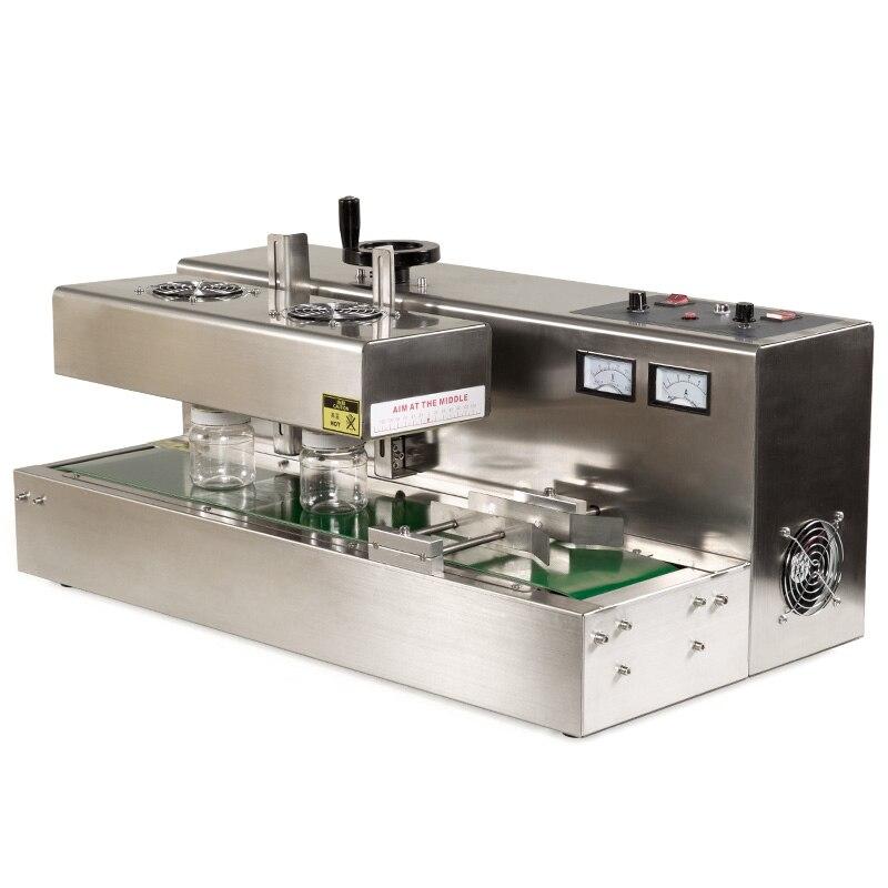 Continue Induction Électromagnétique D'étanchéité Machine Automatique Induction Scellant Bouteille D'étanchéité Machine DL-300A/DL-300B