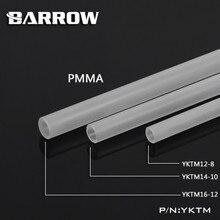 Barrow Tube acrylique mat givré OD 12/14/16MM, longueur 500MM, PMMA