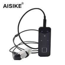 AISIKE I5S Sport Stereo Mini Clip on Bluetooth Headset Wireless Bluetooth Handsfree Clip Earphone Headphone For IOS Andriod