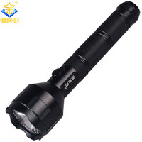 JUJINGYANG Charging white light 3 gear outdoor camping long beam LED flashlight