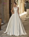 Dreagel Elegant Princess Ball Gown Wedding Dress Gorgeous Appliques Crystal Beaded Bridal Dresses Wide Sashes Vestidos De Noiva