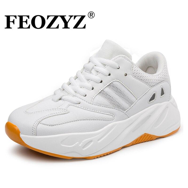 193502b2e660 FEOZYZ 700 Running Shoes Men Women Breathable Light Weight Sneakers women  Spring Summer Couple Shoes Plus