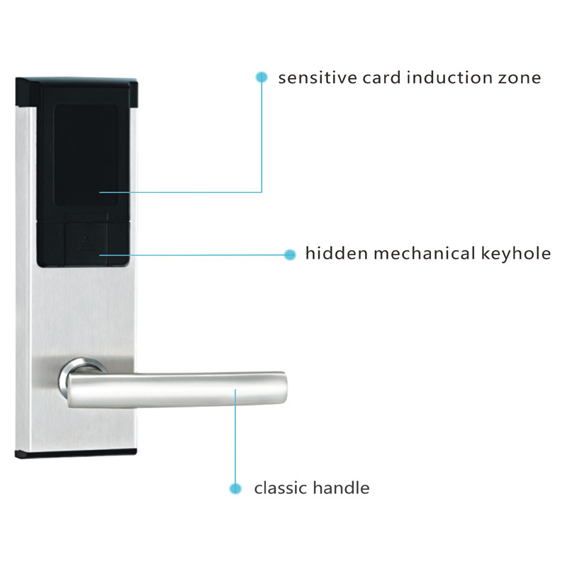 digital office door handle locks. Aliexpress.com : Buy LACHCO Electronic RFID Card Door Lock Smart Digital Keyless For Office Home Hotel Apartment L16061BS From Reliable Handle Locks