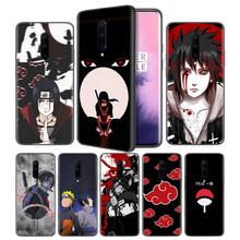 Sasuke Naruto Soft Black Silicone Case Cover for OnePlus 6 6T 7 Pro 5G Ultra-thin TPU Phone Back Protective