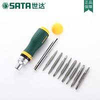 SATA home tools multi purpose ratchet screwdriver set cross screwdriver combination screwdriver disassemble computer repair 0935