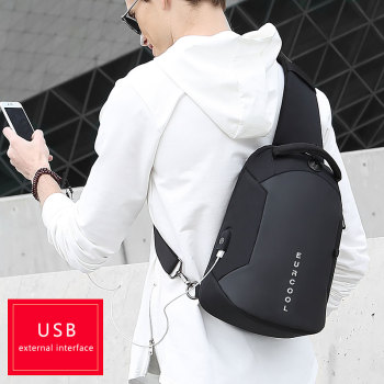 Multifunction Crossbody USB Charging Bag