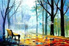 palette knife oil painting  modern oil painting canvas oil painting K198