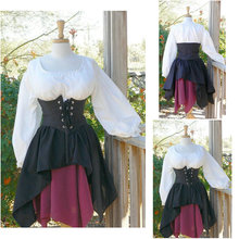 1860S Victorian Corset Gothic/Civil War Southern Belle Ball Gown Dress Halloween dresses US 4-16 R-363