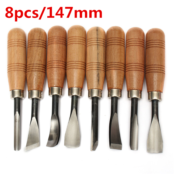 8 Pcs Woodpecker Graver Woodcarving Knife Chisel Wood Carving Hand Tool Hand Tools Leather Hand Tools Leather цены онлайн