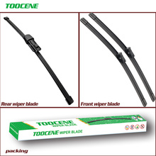 Front And Rear Wiper Blades For Volkswagen VW Sharan 2010 Onwards Windshield Windscreen Auto Car Styling Accessories 28+16+11