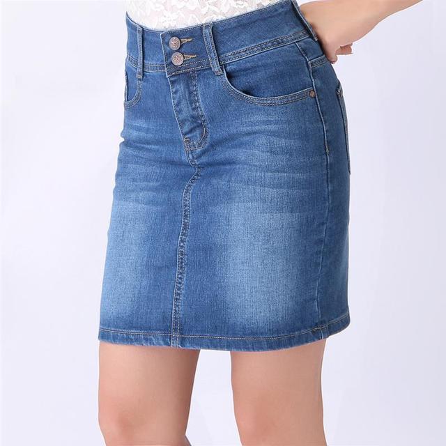 Light Blue Denim Skirt,Dark Blue Pencil Skirts,