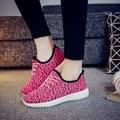 2016 Summer Autumn Women Flat Shoes Fashion Breathable Women's Lace Up tenis feminino Z361 chaussure femme Comfortable Shoes