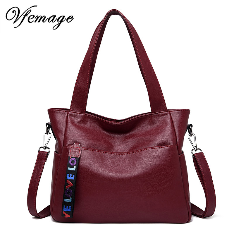 Vfemage Luxury Soft Leather Handbags Women Bag Designer Female Shoulder Messenger Bags Ladies Large Capcity Tote Bag Sac A MainVfemage Luxury Soft Leather Handbags Women Bag Designer Female Shoulder Messenger Bags Ladies Large Capcity Tote Bag Sac A Main