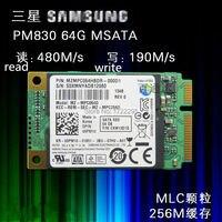 Neue Original für Samsung PM830 64G MSATA3 notebook Mini solid-state festplatte MSATA SSD solid state drive