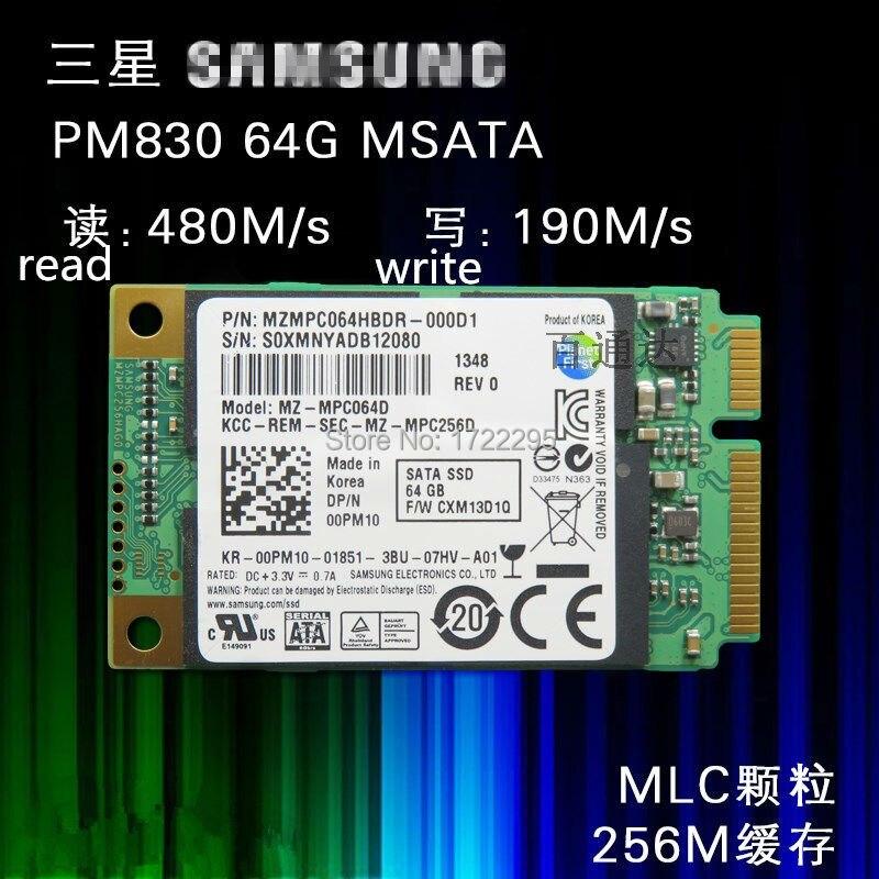 New Original for Samsung PM830 64G MSATA3  notebook Mini solid state hard disk MSATA SSD solid state drive|original bridal shower favors|origin bedding|origin - title=