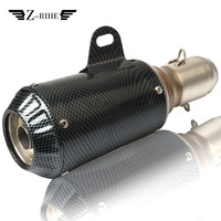 For YAMAHA FJR XJR 1300 Racer fazer XT 600 TDM 900 TMAX XMAX VMAX 1200 XSR900 XSR700 Universal 36 51mm Scooter Exhaust Pipe
