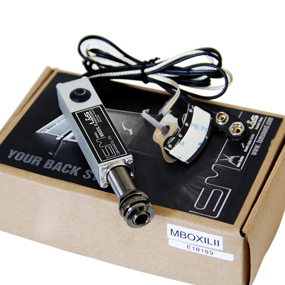 LSM EQ MBOXILII Dual-coil Soundhole Pickup for Acoustic and Classical Guitar guitar pick holder