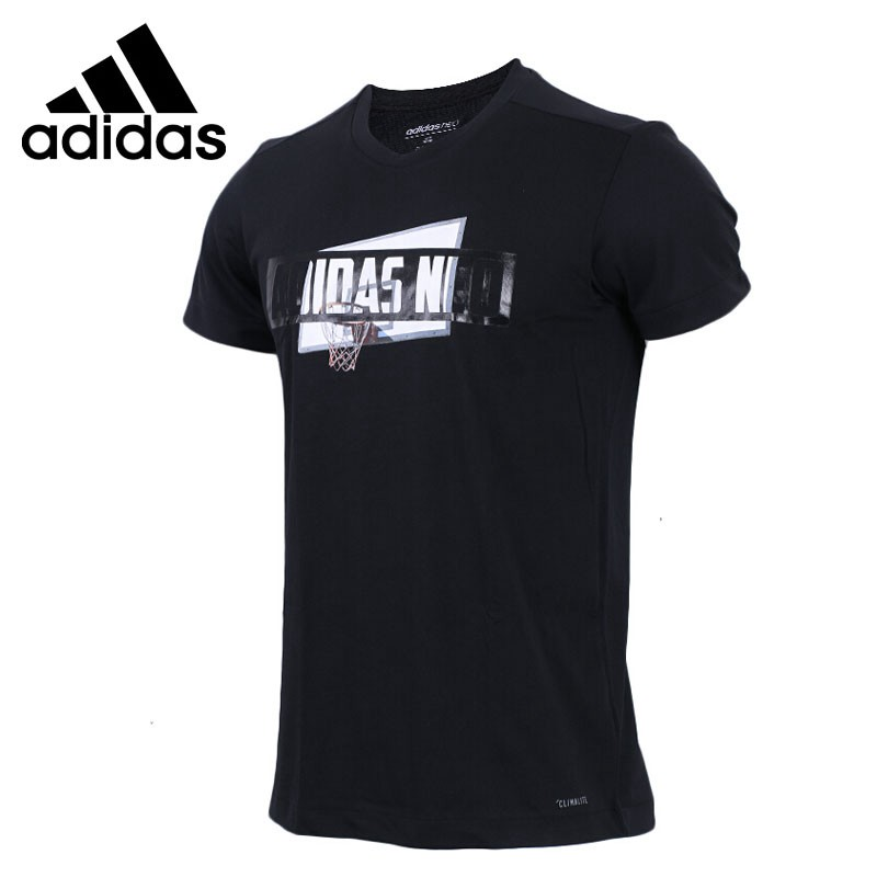 Original New Arrival  Adidas  NEO Label CS CLMLT BBL Men's T-shirts short sleeve Sportswear