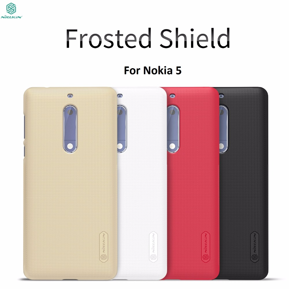 phone case for Nokia 5 cover for Nokia 5 5.2 NILLKIN Super Frosted Shield back cover case + free screen protector for Nokia 5
