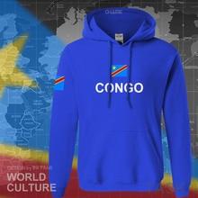 DR Congo hoodies erkekler kazak ter yeni hip hop streetwear giyim spor eşofman COD DRC DROC Congo Kinsha Congolese