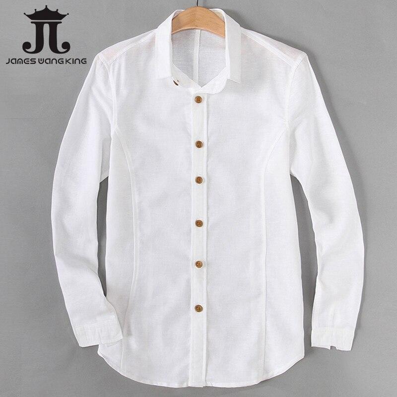 Online Get Cheap Mens White Linen Shirts Long Sleeve -Aliexpress ...