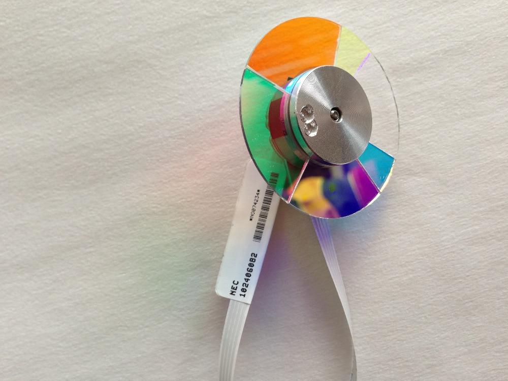 (NEW) Original Projector Colour Color Wheel Model For Nec NP43+ NP110+ NP-V230+ V260+ /V280 NP-V300X color wheel