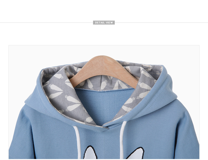 baby girl cartoon rabbit printed hoodies sweatshirt children clothing (13)