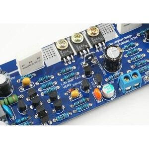 Image 4 - 1 pz Classe AB L12 55 V 120 W Singolo Canale di Potenza Audio Finito Bordo Dellamplificatore Amp con Dissipatore di calore