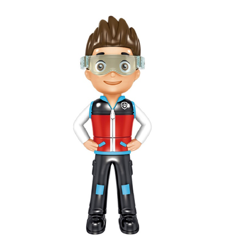 Paw Patrol Ryder Figure Action Pack Rescue Team Dog Dolls Toys PVC Anime Action Model Patrulla Canina Toy Children Gifts