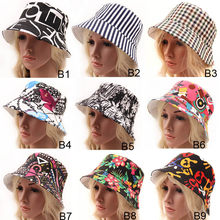 Fashion Women Wide Large bohemia floral sunhat bucket hats women fashion travel hat sun hat Cap(China)