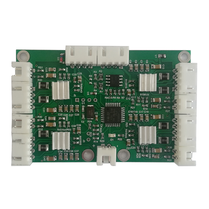 RS485 Bus MODBUS 4-way Stepper Motor Drive Board and Strip Limited Stable Motor ControllerRS485 Bus MODBUS 4-way Stepper Motor Drive Board and Strip Limited Stable Motor Controller