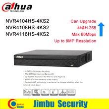 Dahua P2P 4K NVR 4ch 8ch 16ch Video recorder NVR4104HS-4KS2 NVR4108HS-4KS2 NVR4116HS-4KS2 H.265 8MP Resolution