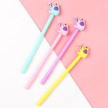 36 pcs/Lot 0.5mm Funny color elephant gel pen Black color ink caneta escolar Kawaii  Office School supplies FB028