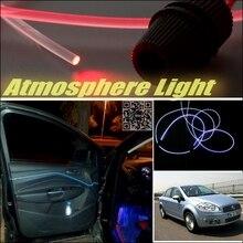 Atmósfera de coches luz de fibra óptica banda para Fiat Linea Furiosa reacondicionamiento Interior / No Dizzling Cab en el Interior de aire bricolaje luz