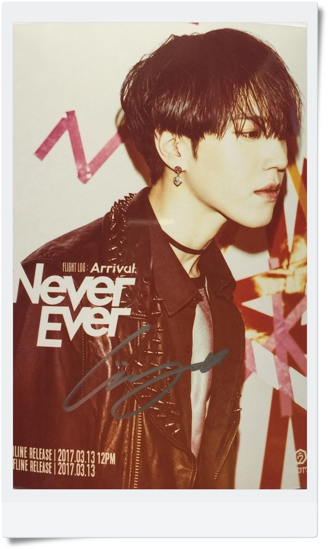 GOT7 GOT 7 YuGyeom Yu Gyeom autographed signed photo FLIGHT LOG:ARRIVAL  6 inches new korean freeshipping 03.2017 got7 got 7 jb mark autographed signed photo flight log arrival 6 inches new korean freeshipping 03 2017
