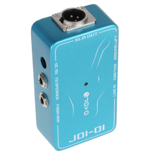 JOYO DI Passive Direct Box Amp Simulation Effect Pedal with 9V Battery for Guitar
