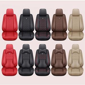 Image 5 - (Front + Rear) Special Leather car seat covers For Suzuki Swift Wagon GRAND VITARA Jimny Liana 2 Sedan Vitara sx4 auto accessory