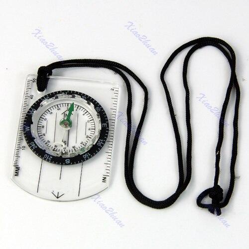 Все в 1 открытый походы опорной плите компас карта мм дюйм измерьте линейка