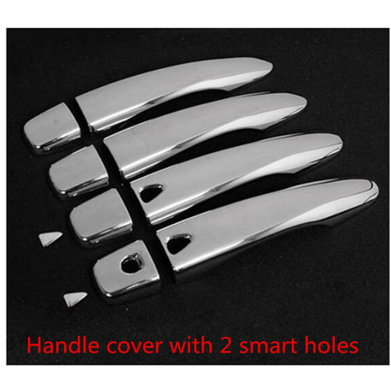 Door Handle Cover For 2014-2018 Nissan Qashqai Rogue Sport No Smartkey hole
