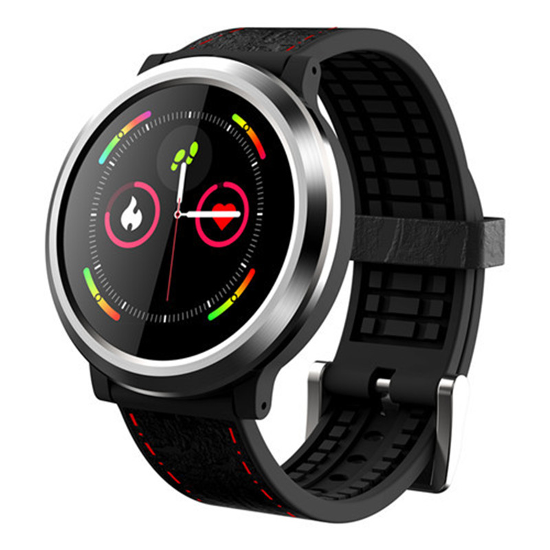 JQAIQ 3D Dynamic Smart Sport Watch Blood Pressure Heart Rate Sleep Monitor Activity Tracker For Men With Android Ios