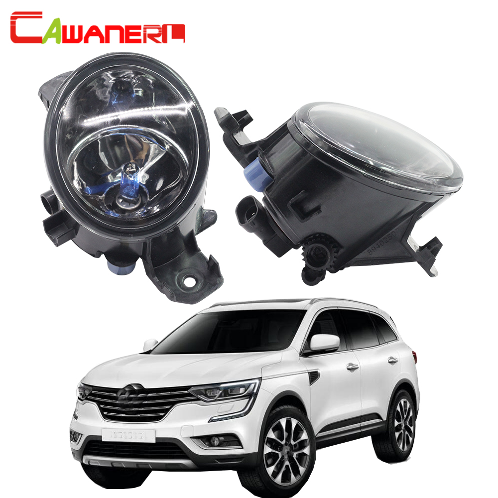 Cawanerl For Renault Koleos (HY_) 2008-2015 100W H11 Car Styling Halogen Fog Light Daytime Running Lamp DRL 2 Pieces