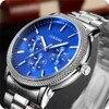 OUKESHI Brand Luxury Men Watches Men Business Quartz Watch Auto Date Waterproof Clock Relogio Masculino Montre