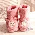 Зима Японский милый маленький овец альпака плюшевые тапочки теплый хлопок сапоги на дому тапочки обуви женщина 2013 бесплатная доставка