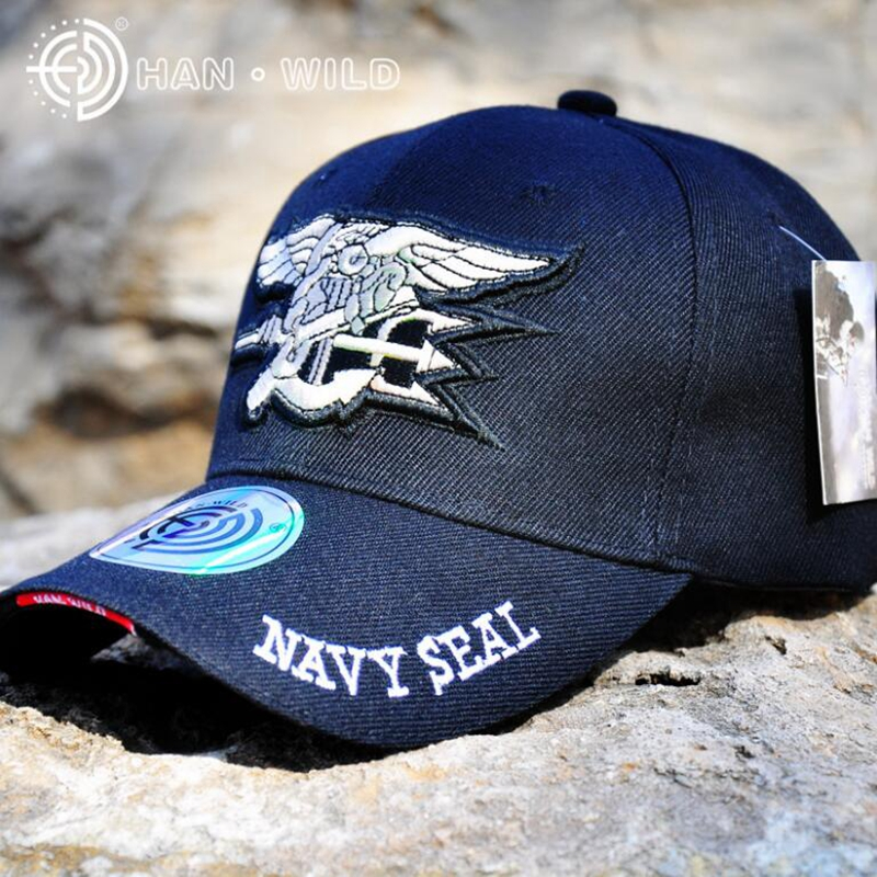 03531130885 Navy Seals Cap Tactical Army Cap Letter Embroidery Baseball Hat US ...