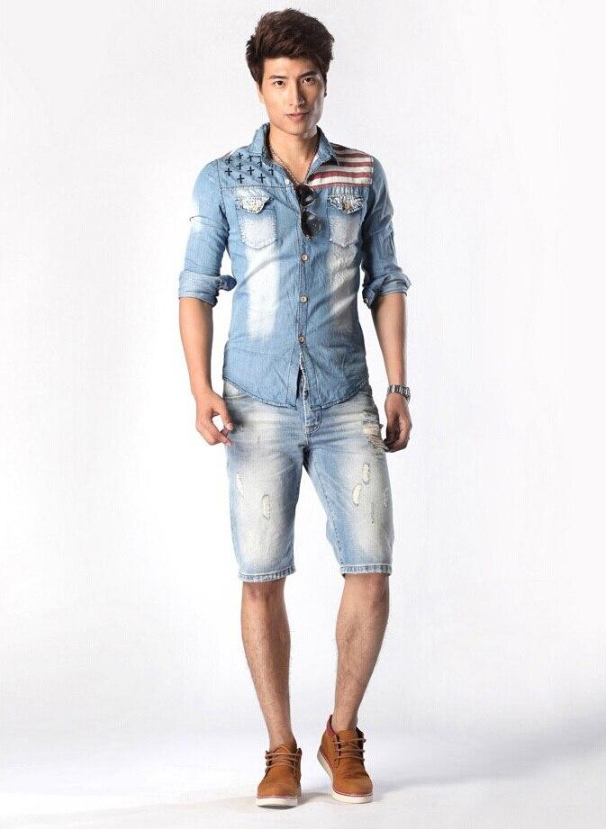Aliexpress.com : Buy ALA MASTER New Famous Brand Short Jeans Men ...