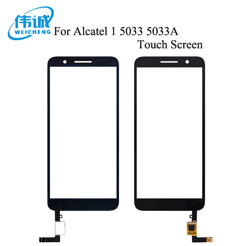 WEICHENG Für Alcatel 1 5033 5033D 5033X 5033Y 5033A 5033J Touchscreen Digitizer Glas Sensor Für Telstra Ätherisches Plus 2018