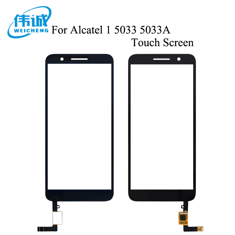 WEICHENG For Alcatel 1 5033 5033D 5033X 5033Y 5033A 5033J Touch Screen Digitizer Glass Sensor For Telstra Essential Plus 2018