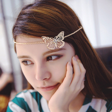 Leaf and Butterfly Hairgrip