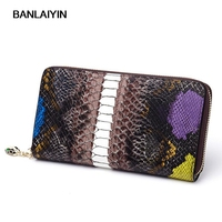 Women Wallets Brand Design Cow Split Leather Wallet Female Zipper Fashion Long Crocodile Pattern Ladies Purses