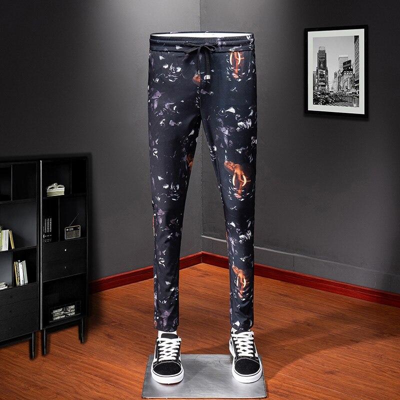 Высококачественные брюки тренировочные мужчины спортивные брюки для мужчин Уличная удобные крутые мужские зауженные брюки повседневные д